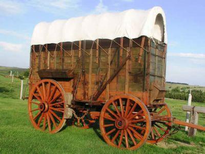 Western Freight Wagon
