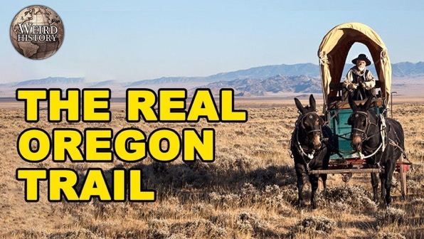 What It Was Like to Be On the Oregon Trail via Weird History [Video]